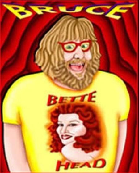 Bruce Vilanch,  Bette Midler T-shirt, Illustration