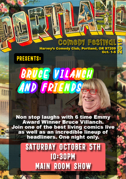 Bruce Vilanch And Friends In Portland