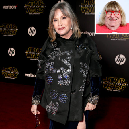 Carrie Fisher and Bruce Vilanch