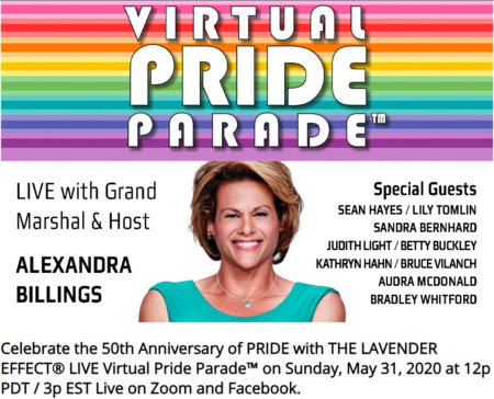 The Lavender Effect Live Virtual Pride Parade